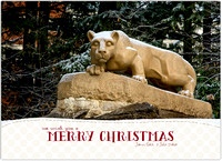 Nittany Lion Christmas Cards