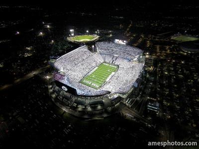 Penn State Beaver Stadium White Out 2014
