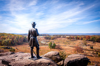 View from Little Round Top in Fall