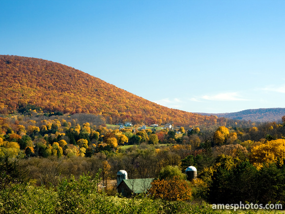 Mount Nittany in the fall