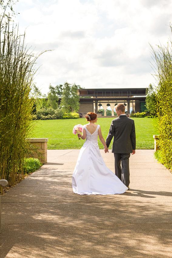 Penn State Arboretum wedding