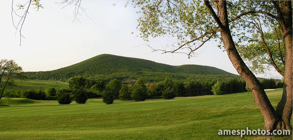 Mount Nittany from Boalsburg