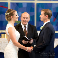 Eisenhower Chapel wedding