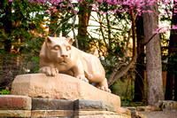 Nittany Lion Shrine - Spring, Four Seasons Collection