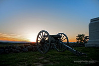 Cannon at Gettysburg Computer Wallpaper