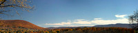 Superwide view of Mount Nittany in the Fall