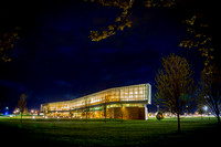 Lewis Katz Building - Penn State Law School at Night