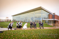 Penn State Campus wedding photos