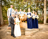 Penn State wedding photos