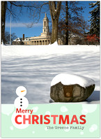 Custom Penn State Christmas Cards.