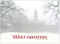 Penn State Old Main Christmas Card