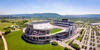 Aerial Photo of Beaver Stadium with Mount Nittany