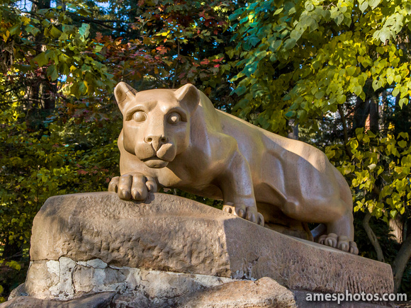 Classic Nittany Lion in Fall