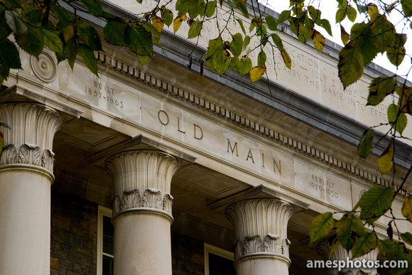 Old Main in Summer - closeup
