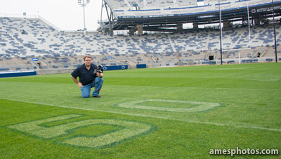 William Ames in Beaver Stadium