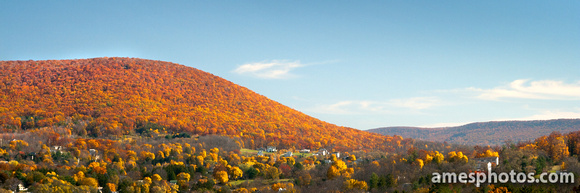 Mount Nittany Ablaze with Color