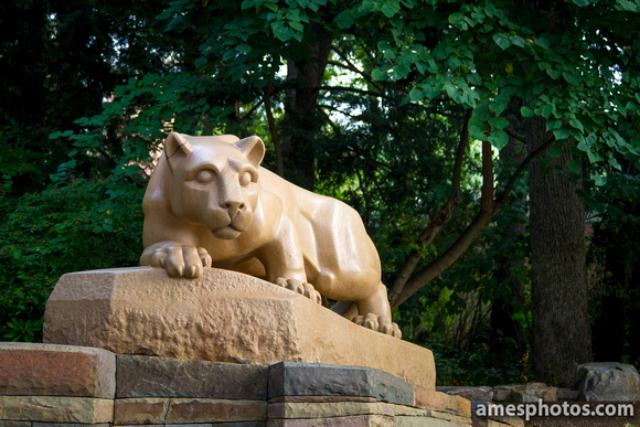 Nittany Lion Shrine - Summer, Four Seasons Collection