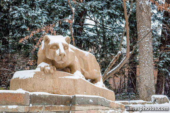 Nittany Lion Shrine - Winter, Four Seasons Collection