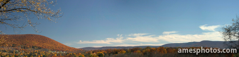 Mount Nittany and the Nittany Valley in Fall