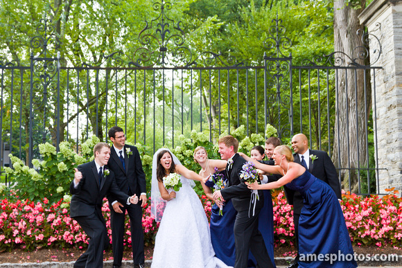 Penn State wedding photo