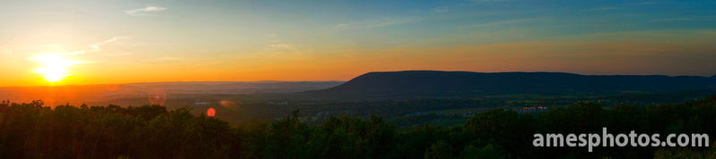 Mount Nittany Sunset from Boalsburg