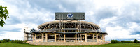 New Scoreboards on Beaver Stadium
