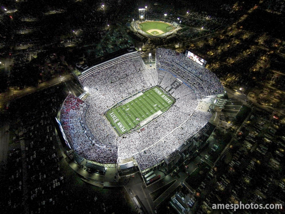 Beaver Stadium White Out 2014