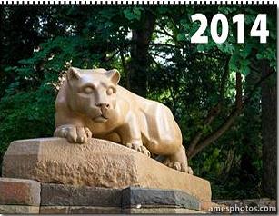 2014 penn state photo calendar