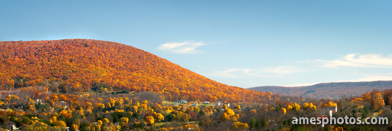 Mount Nittany Ablaze in fall