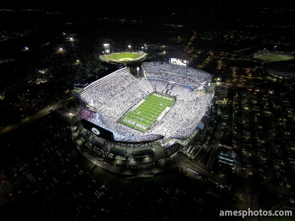 Penn State Beaver Stadium White Out 2014