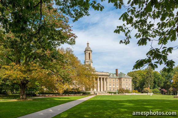 Old Main in Early Fall