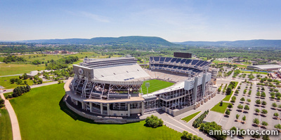 Beaver Stadiumn and Mount Nittany panorama