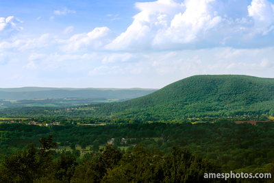 Mount Nittany in summer