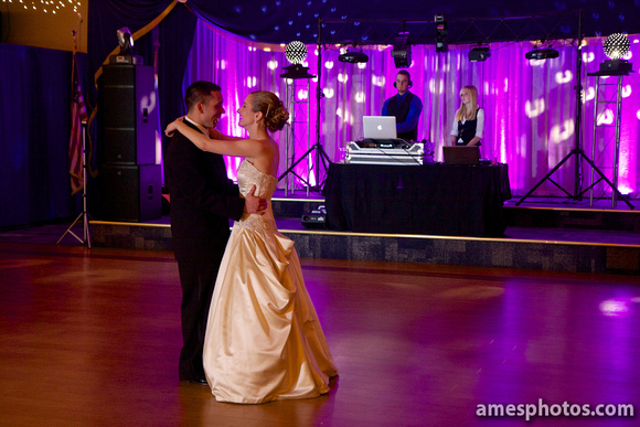 Altoona Wedding reception photo