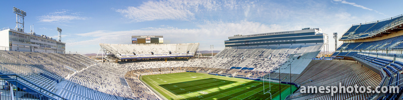 Wide Panorama of Beaver Stadium