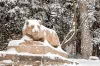 Nittany Lion in Four Seasons